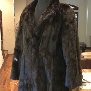 Jackets & Blazers - 100% authentic and stunning mink fur coat